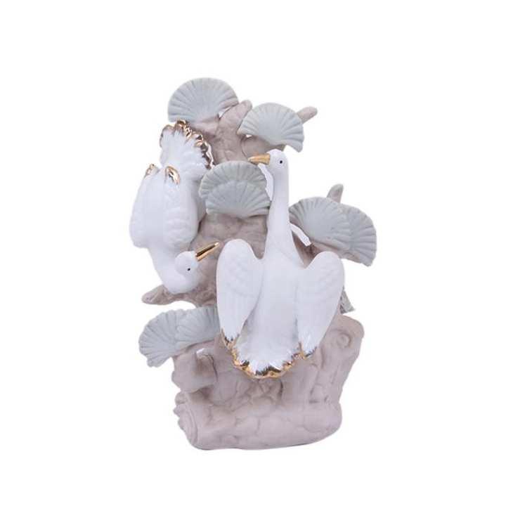 Ceramic Showpiece - White