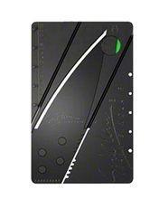 Credit Card Army Folding Knife - Charcoal Black