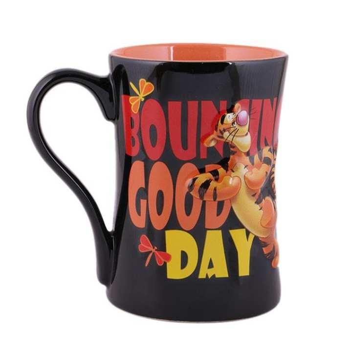 Ceramic Mug - Black and Red