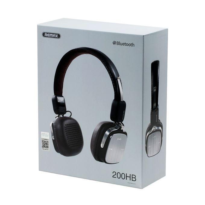 Stereo Wireless Bluetooth Headphone RB-200HB  - Black