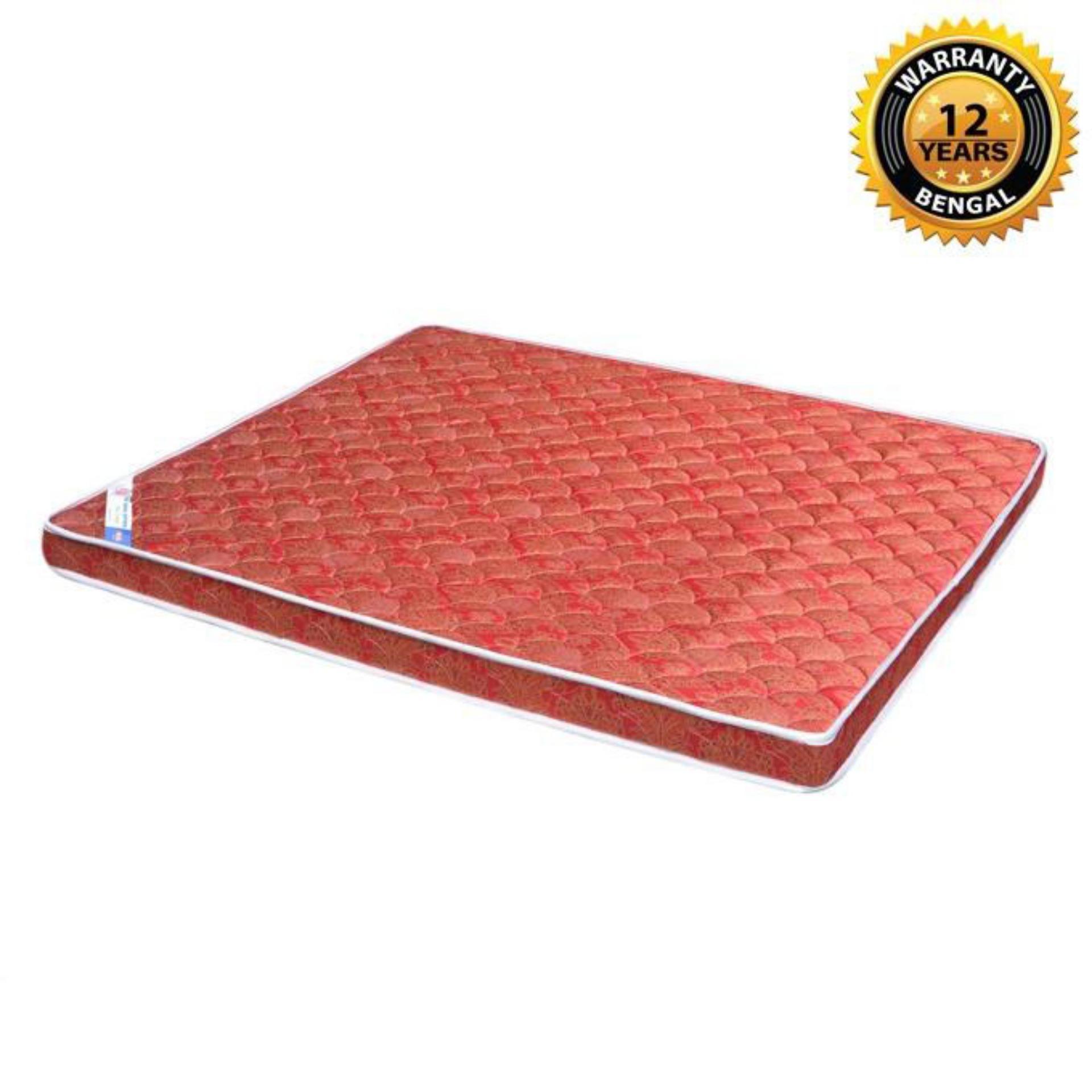 "Bengal Spring Mattress (84""x66""x8"") - Red"