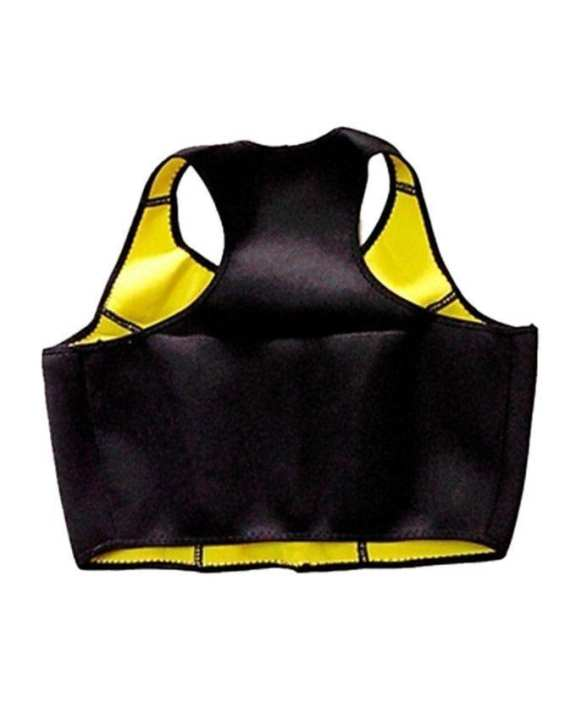 Combo Pack of Hot Shapers Set Bra and Pant - Black and Yellow