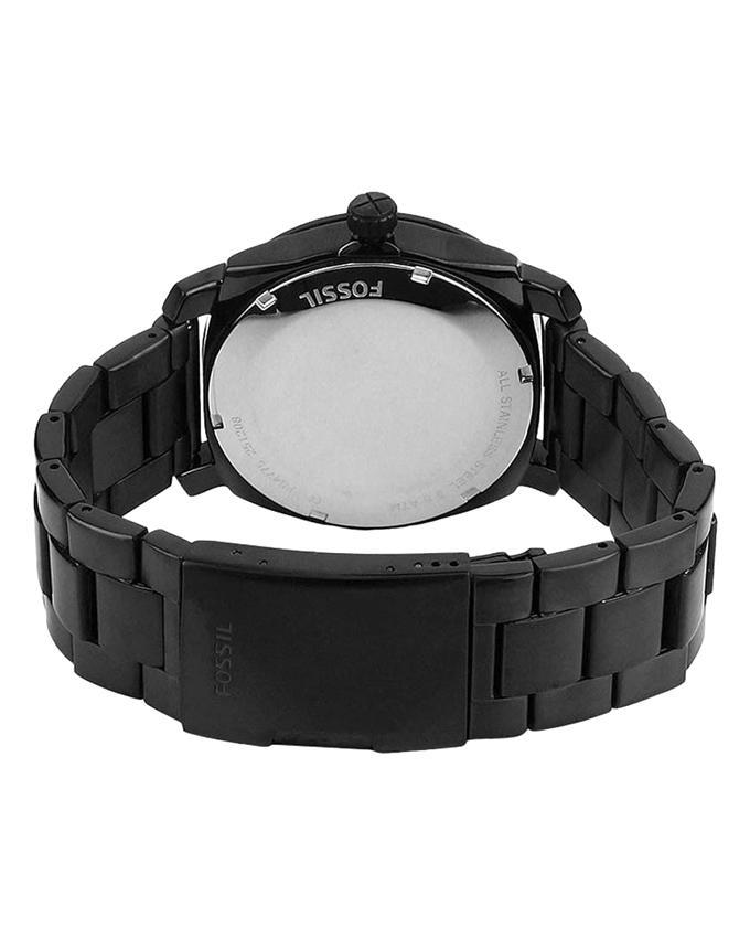 FS4775 Stainless Steel Analogue Watch - Black