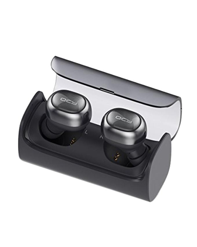 Q29 Bluetooth In-Ear Stereo Wireless Earphones - Dark Gray