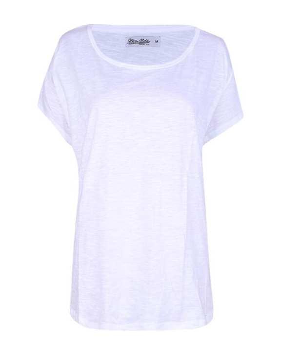 Cotton T-Shirt For Women - White