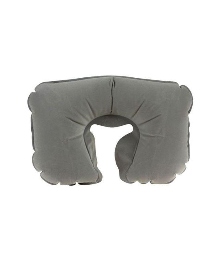 3-In-1 Travel Pillow Set - Grey