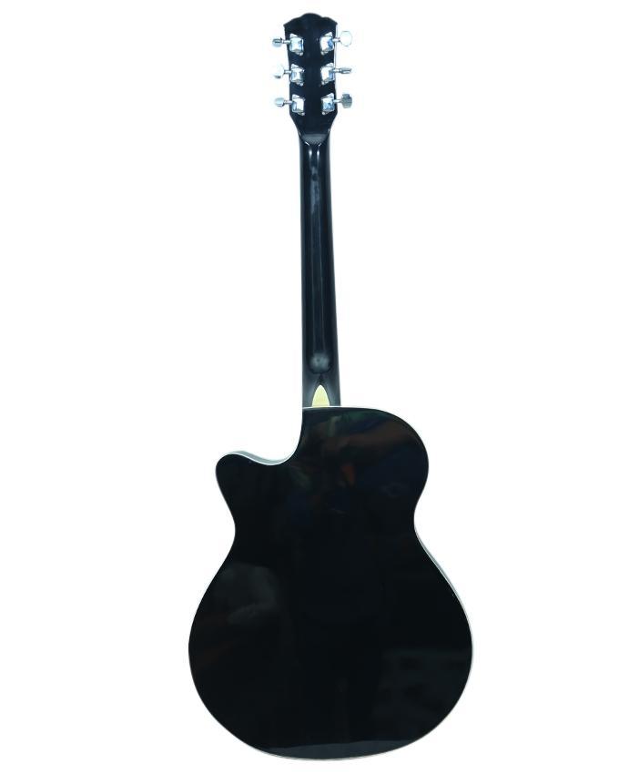 Black Pure Acoustic Guitar