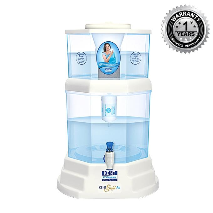 Gold AS Water Purifier 20L - White