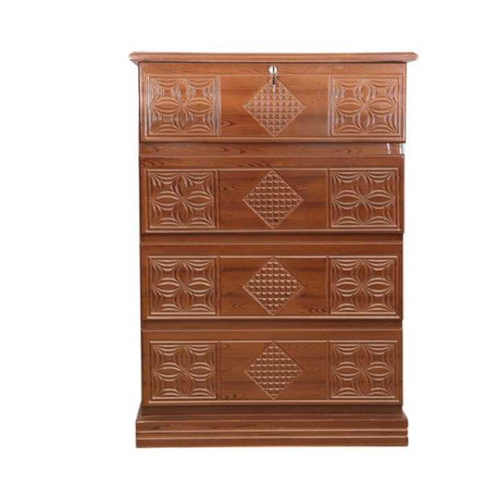Wardrobe MDF Chest Of Drawer - Brown