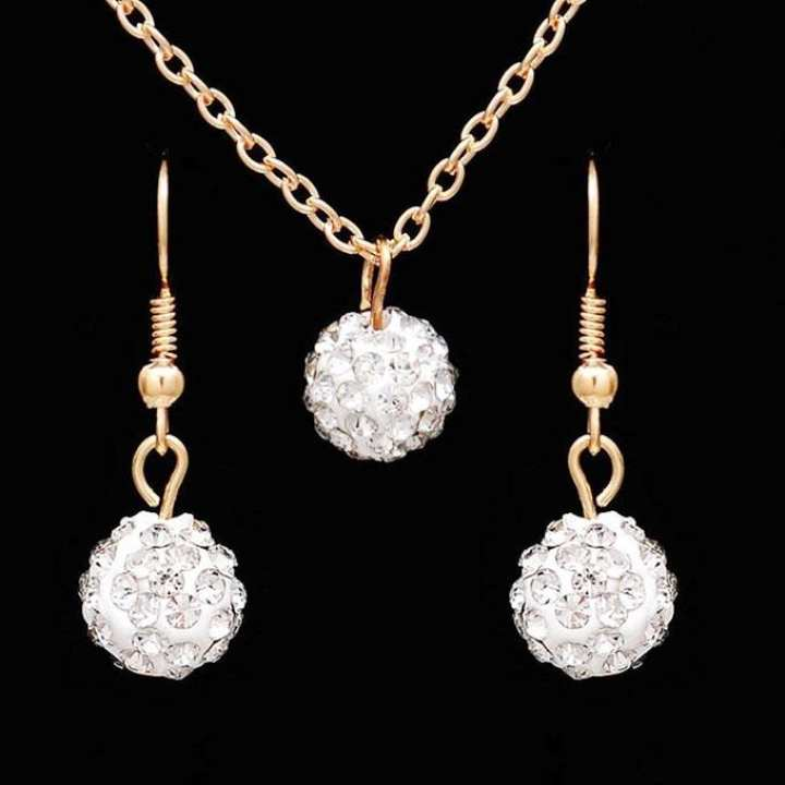 Golden Plated Jewellery Set For Women