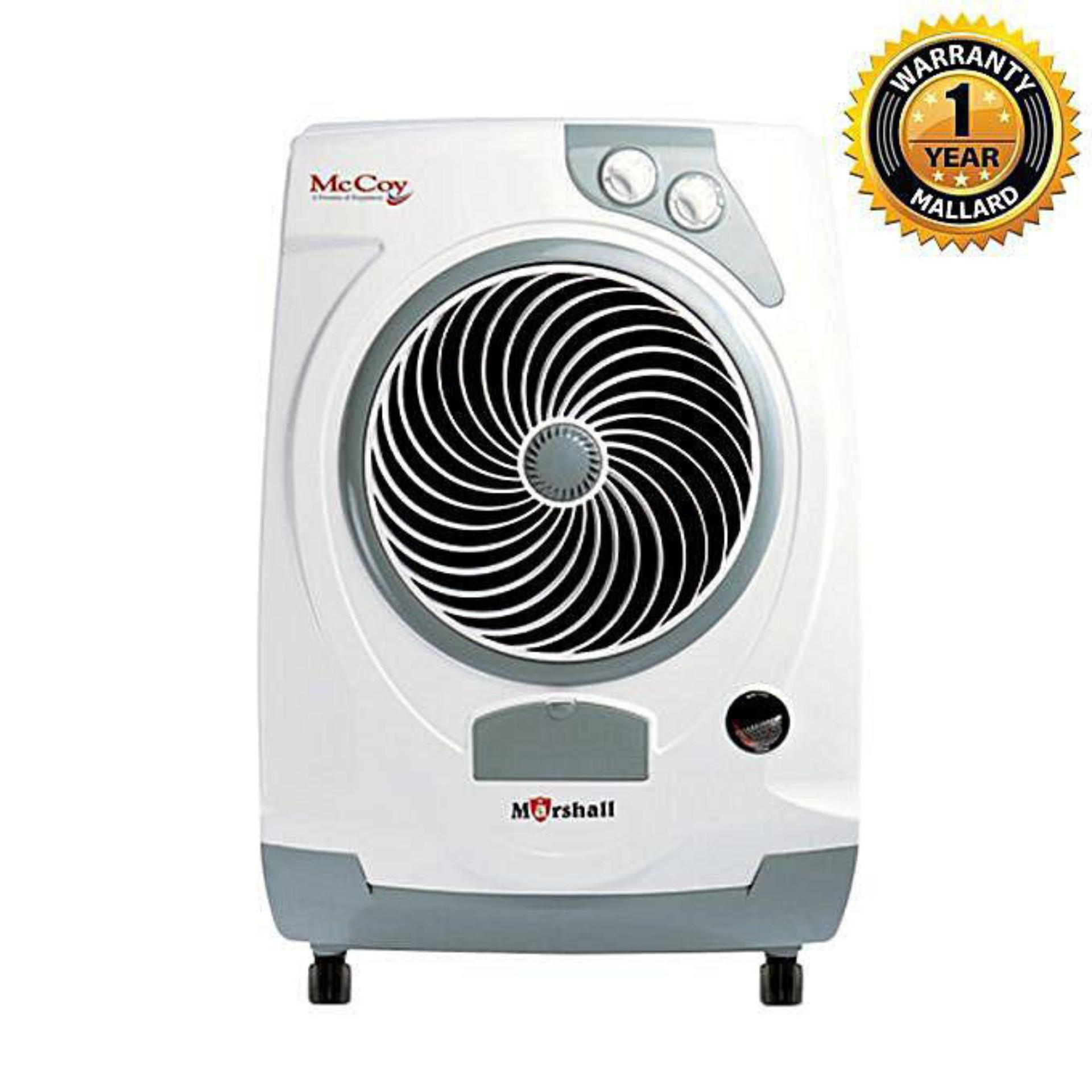 Marshall - Evaporative Air Cooler – 60 Liter - White & Black
