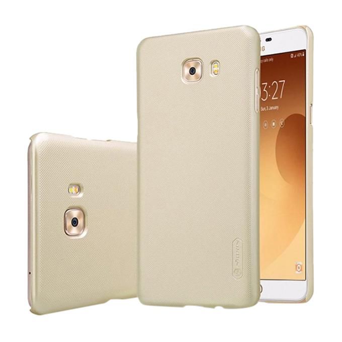 Gold Super Frosted Shield Back Cover for Samsung Galaxy C9 Pro