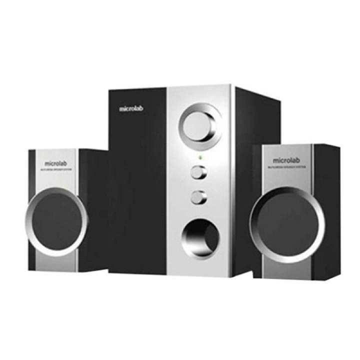 M590 Multi-media Speaker - Black and Silver