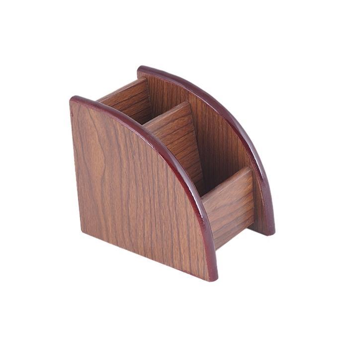 Wood Pen Box - Brown