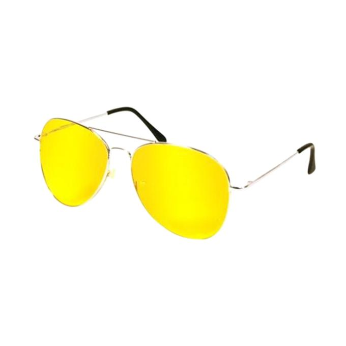 Night View Driving Glasses For Men - Yellow