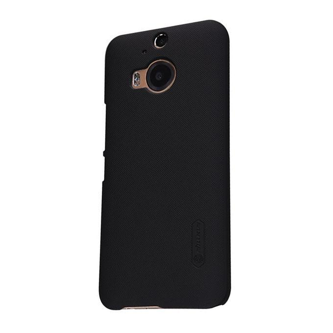 Super Frosted Shield Back Case For HTC One M9 Plus - Black