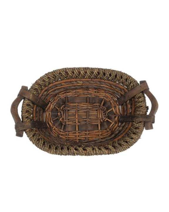 Bread Basket Ellipse Shape - Coffee