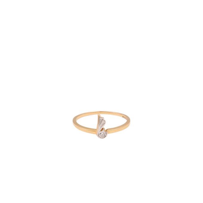 Diamond Ladies Ring Fancy 1 Stone