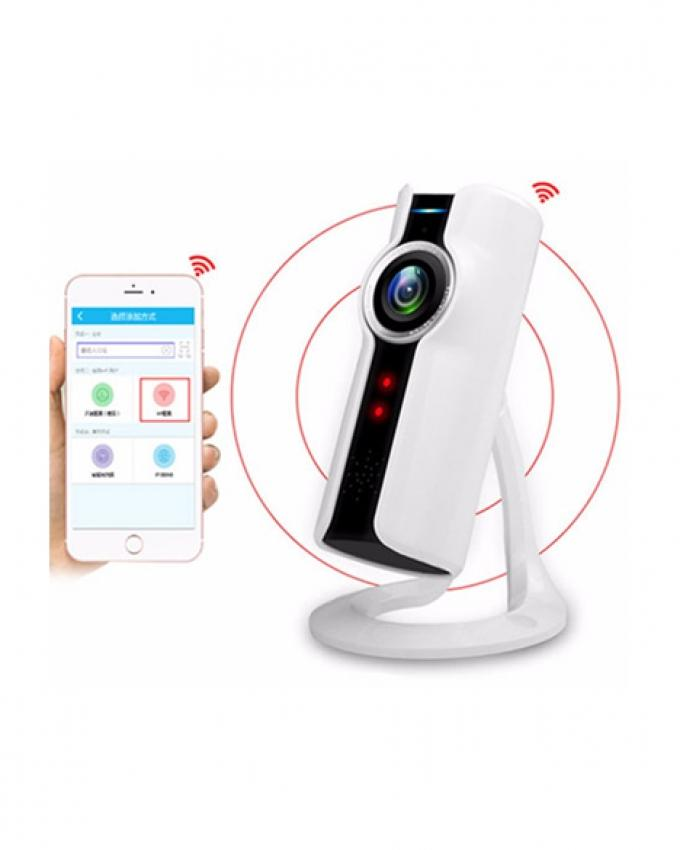 Mobile Controlled IP Camera Panorama  - White