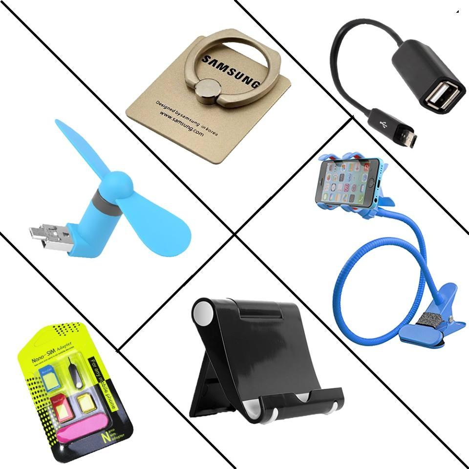 Mobile Accessories Combo 6 In 1