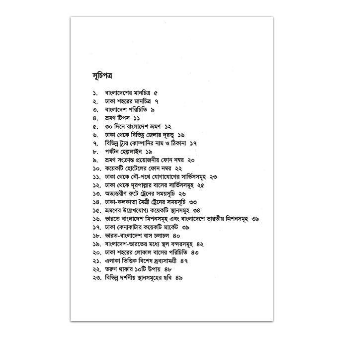 ৩০ দিনে বাংলাদেশ ভ্রমন: চিন্ময় পাল