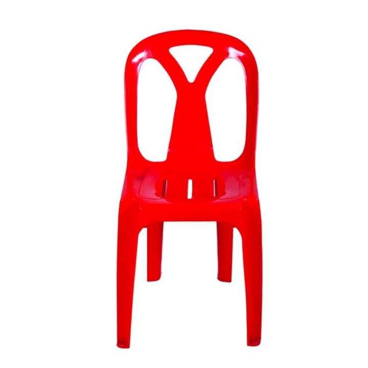 Armless Chair Series - CH-42-1 - Red
