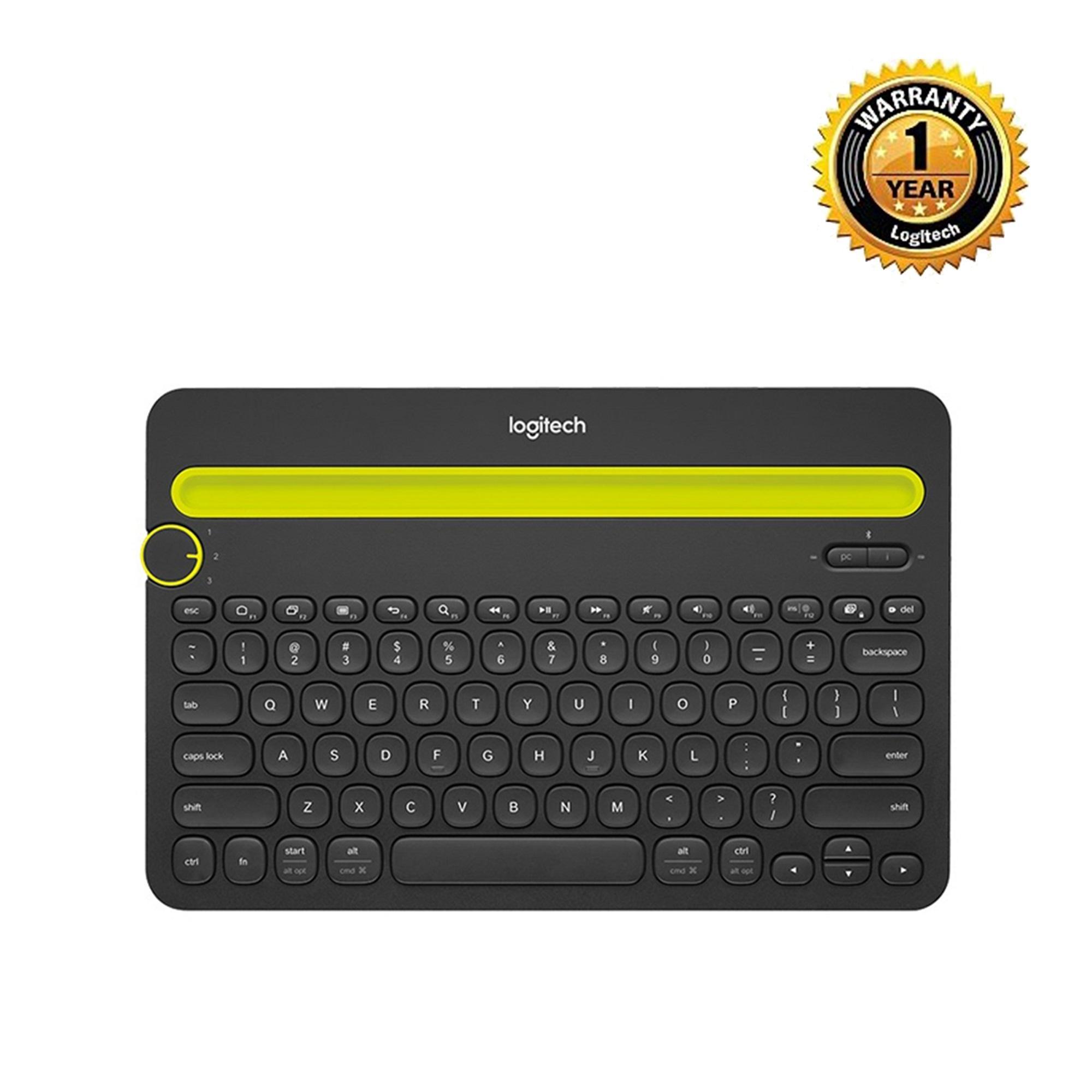 Buy Logitech Keyboards At Best Prices Online In Bangladesh Daraz Mk220 Keyboard Mouse Wireless Combo Original K480 Bluetooth Multi Device Black