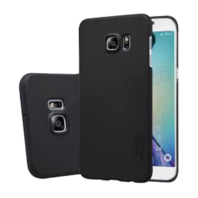 Super Frosted Shield Back Cover for Samsung Galaxy S6 Edge - Black