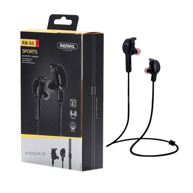 RB-S5 Bluetooth Earphone - Black