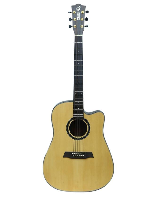 Professional Pure Acoustic Guitar - Brown