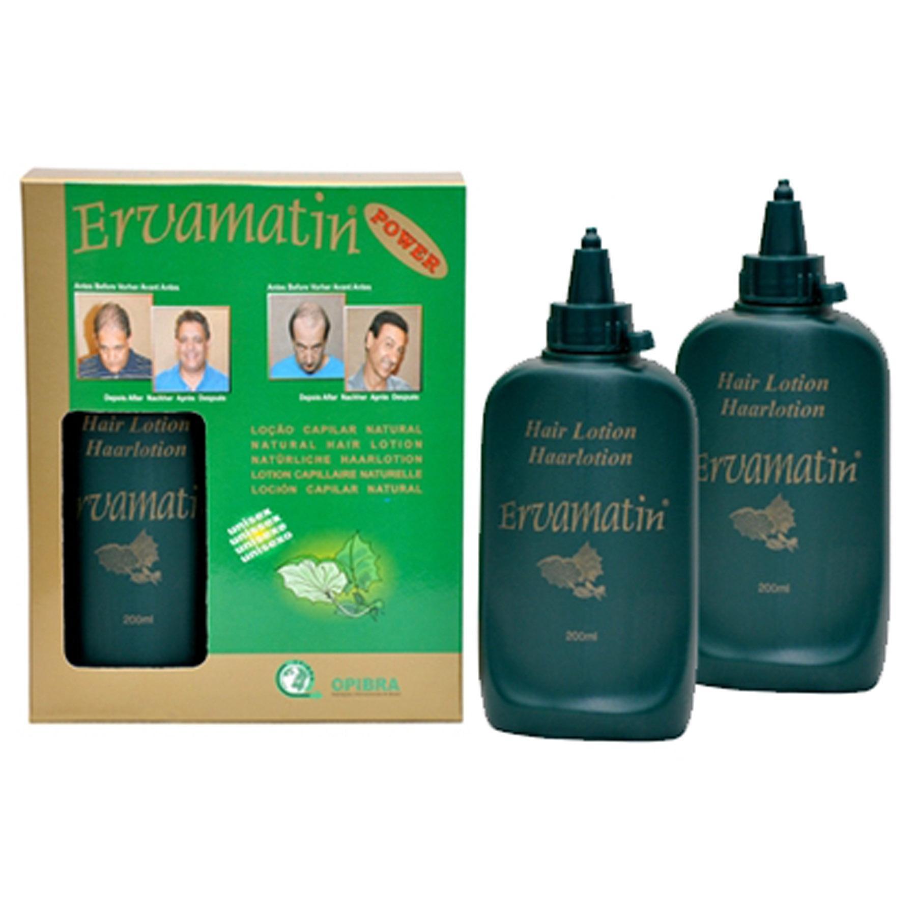 Ervamatin Hair Lotion 2 Bottles - 400ml
