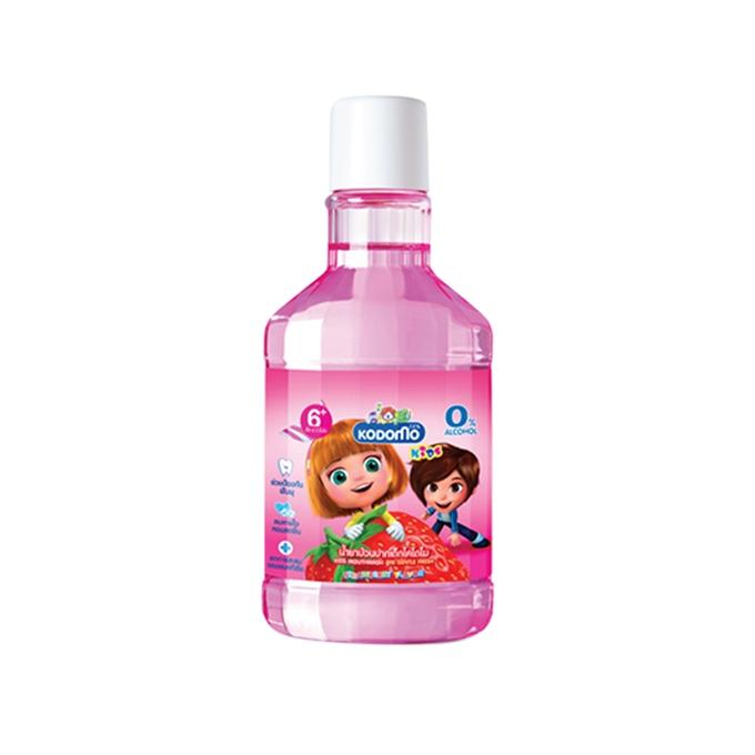 Strawberry Flavor Mouthwash For Baby - 80ml