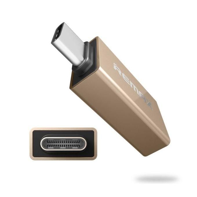 OTG Type-C to USB Adapter – Gold