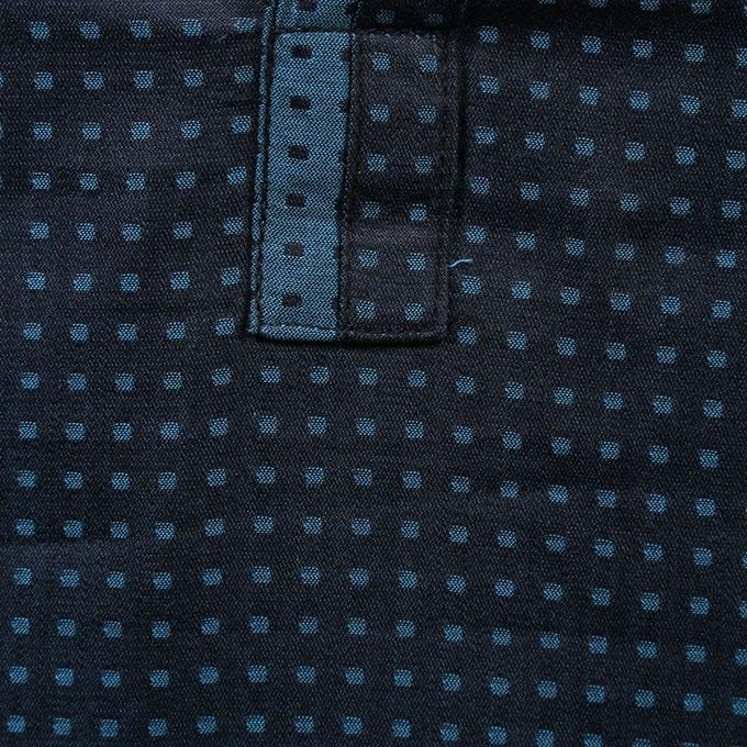 Black Cotton Panjabi For Men
