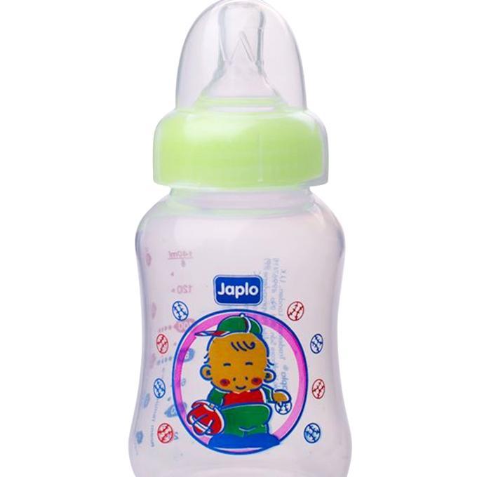 Halal Streamlined Series Feeding Bottle - 140ml - Green Apple