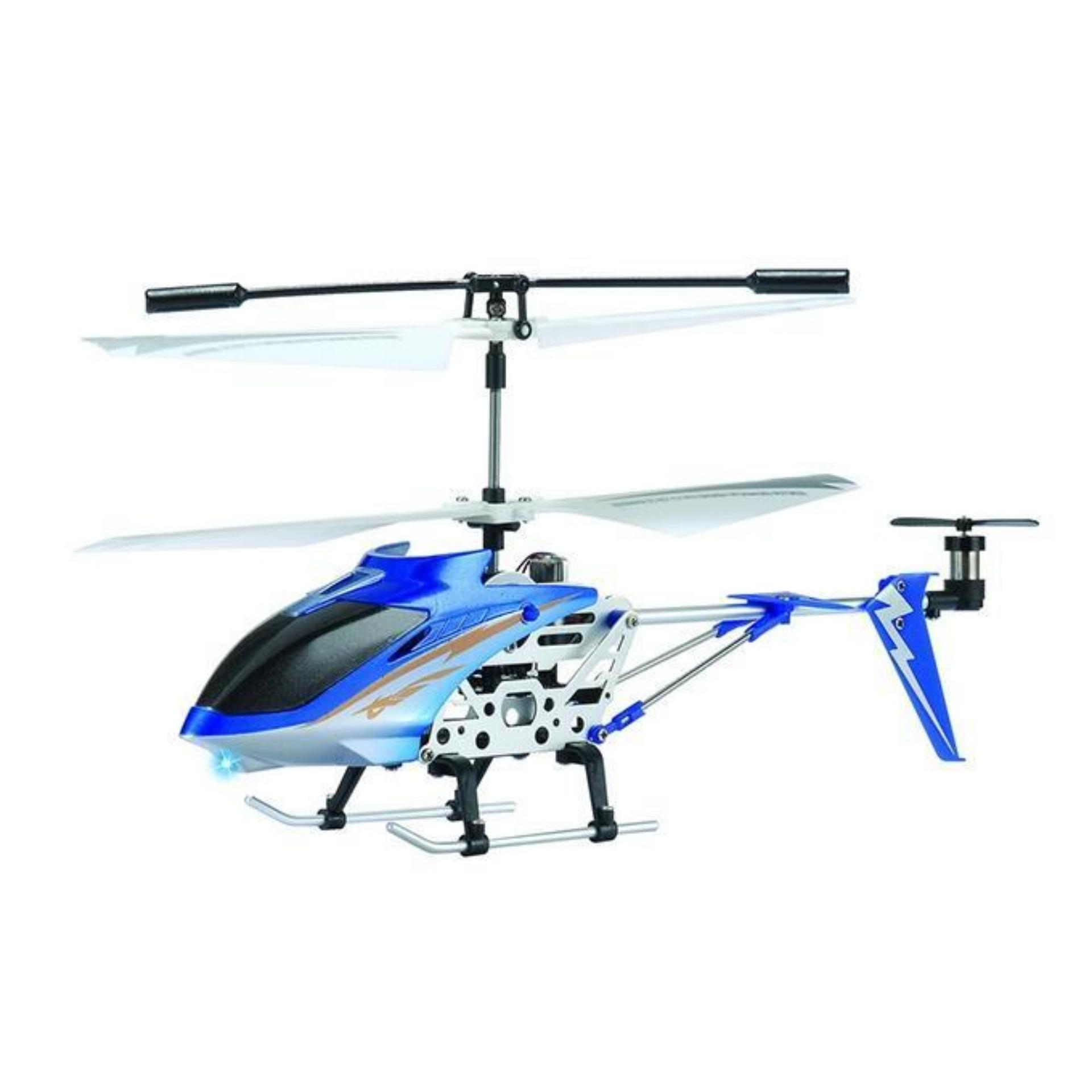 High Speed Swift S2 Helicopter - Blue and White