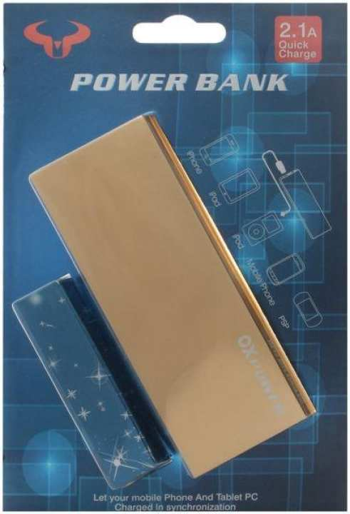 OX Power Bank 8000mAh - Gold