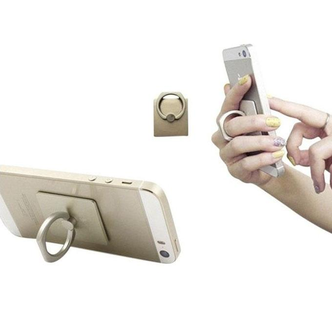 Mobile Phone Ring Stent - Gold