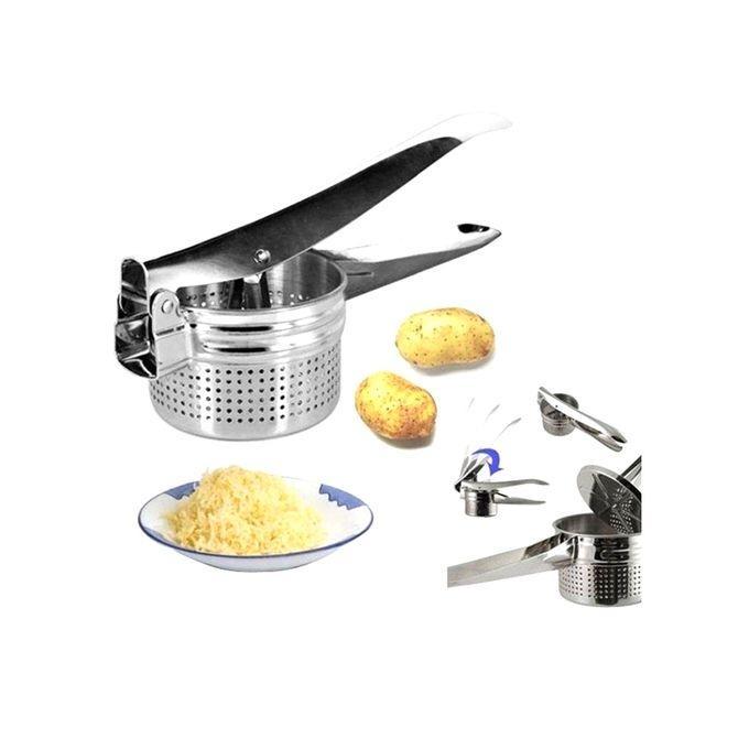 Potato & Fruit Masher - Silver