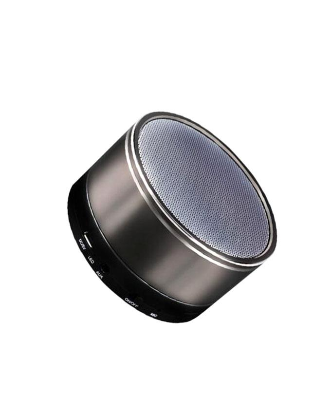 Nby Sports Wireless Speaker Fm Tf Slot Super Bass Sound Box Subwoofer With Mic – Grey
