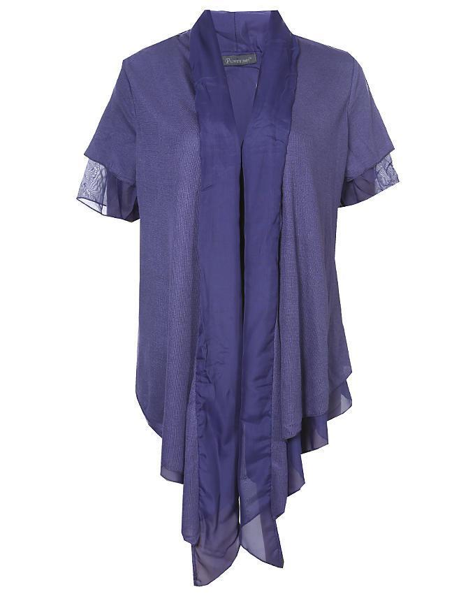 Georgette Ladies Koti - Blue