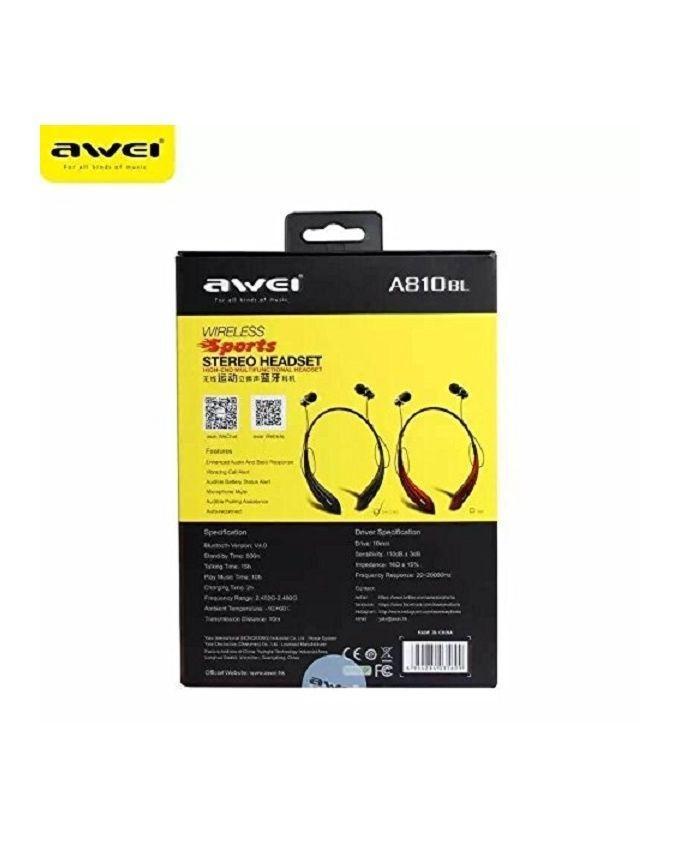 Awei 810BL Headset - Black