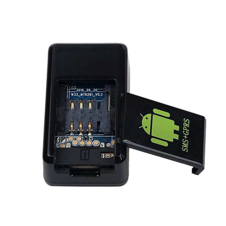 GPS MMS Photo Video Voice Recorder - Black