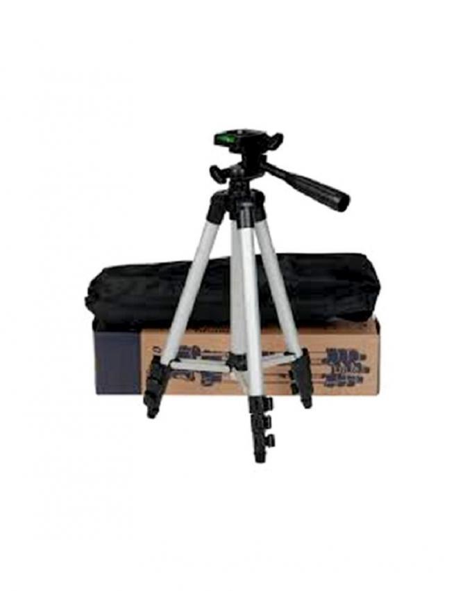 Tripod 3110 Camera Stand - Black and Silver