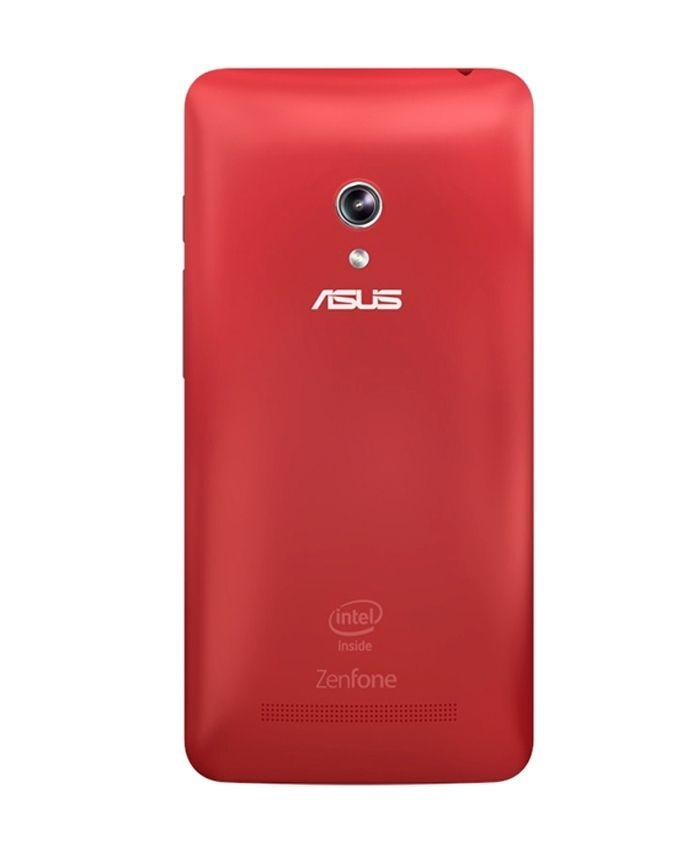 low priced 7b66c 91d83 Zenfone 5 Original Battery Back Cover - Red