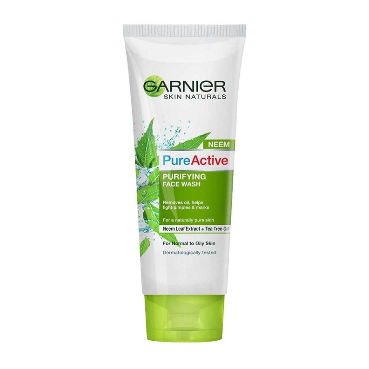 Garnierrak Buy At Best Price In Bangladesh Www Garnier Pure Active Matcha Deep Clean 50ml Purifying Face Wash 100g