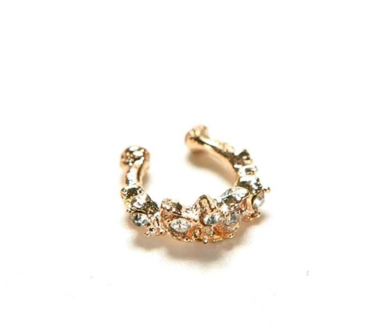 Gold Plated Ear Cuff For Women