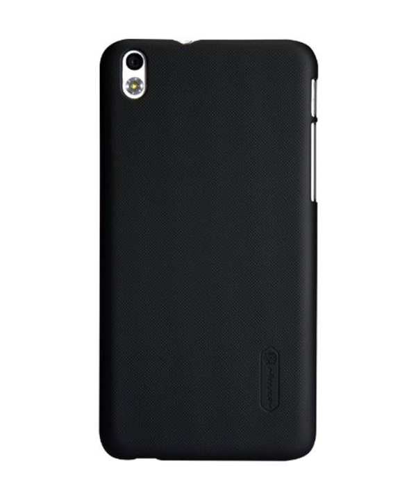 Super Frosted Shield Back Case for HTC Desire 816 - Black