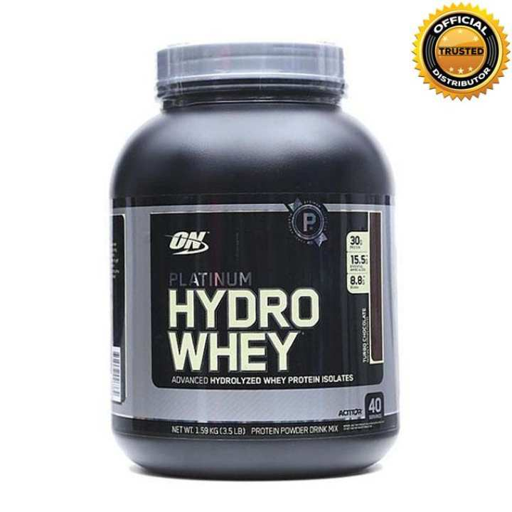 Platinum Hydro Whey - 3.5 lbs - Supercharged Strawberry