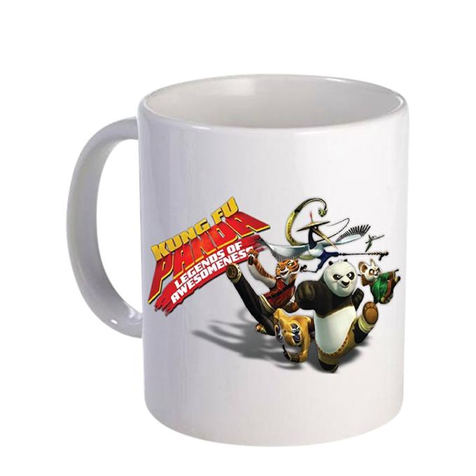 Kungfu panda Legend of Awosemnes  Ceramic  Mug - White